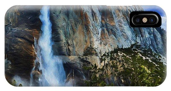 Upper Yosemite Falls IPhone Case