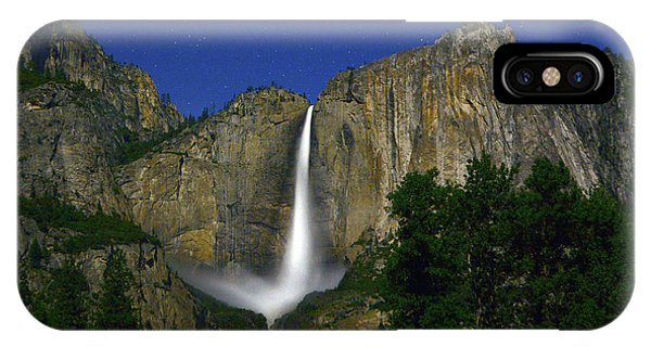 Upper Yosemite Falls Under The Stairs IPhone Case