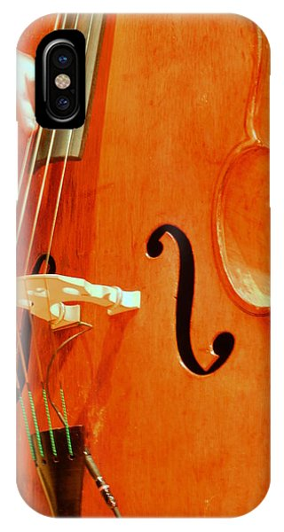 Upright Bass 3 IPhone Case