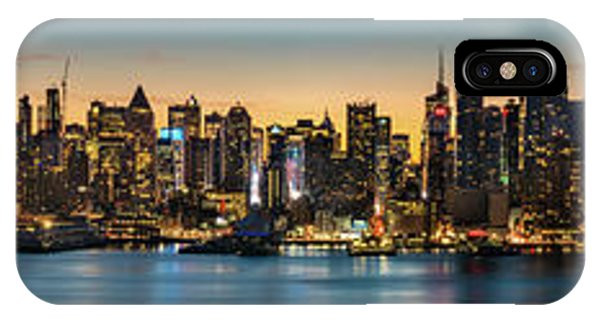 IPhone Case featuring the photograph Uptown And Midtown At Sunrise by Francisco Gomez