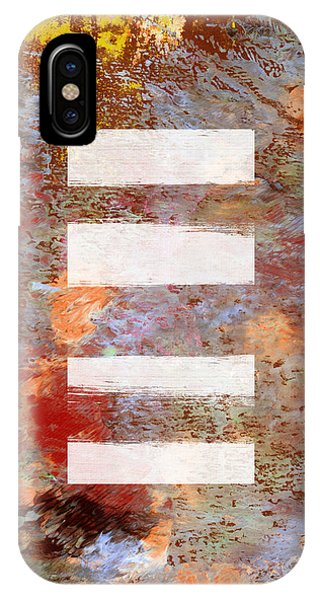 Texture iPhone Case - Urban Abstract- Art By Linda Woods by Linda Woods