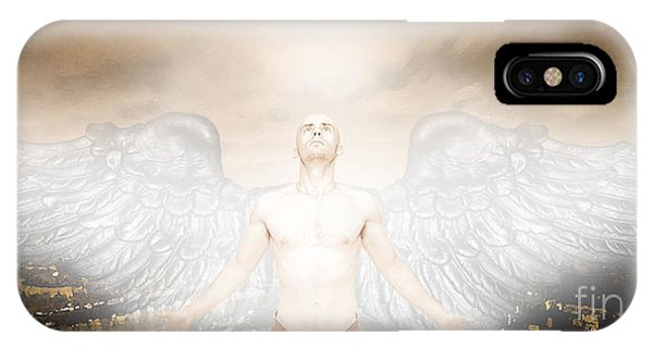Urban Angel Phone Case by Carrie Jackson