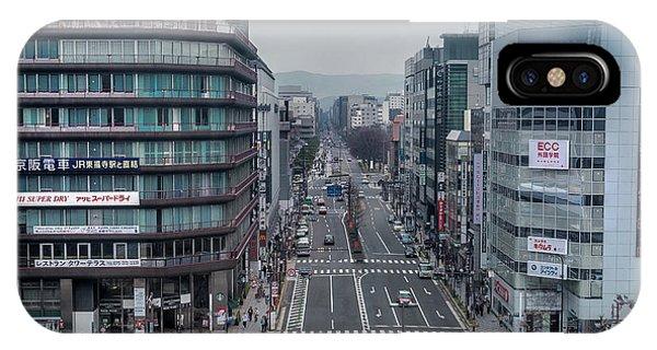 Urban Avenue, Kyoto Japan IPhone Case