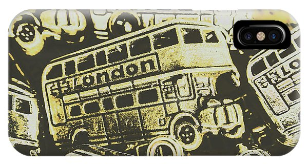 Road Signs iPhone Case - Urban Bus Mural by Jorgo Photography - Wall Art Gallery