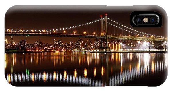 Triboro Bridge Brilliance IPhone Case
