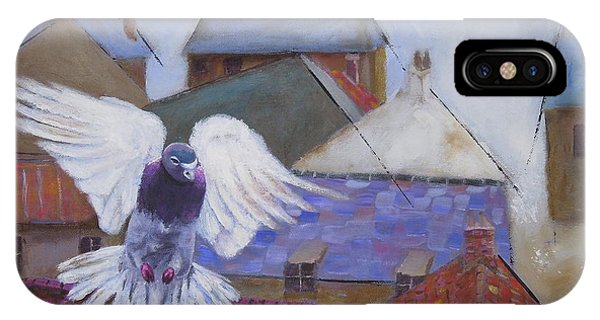 Urban Pigeon IPhone Case