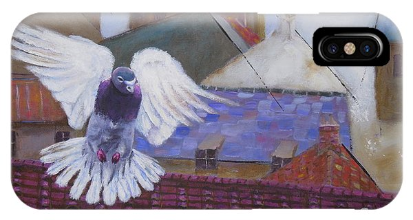 Urban Pigeon IPhone Case