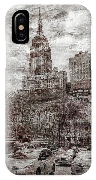 Empire State Building iPhone Case - Urban Rush by Az Jackson