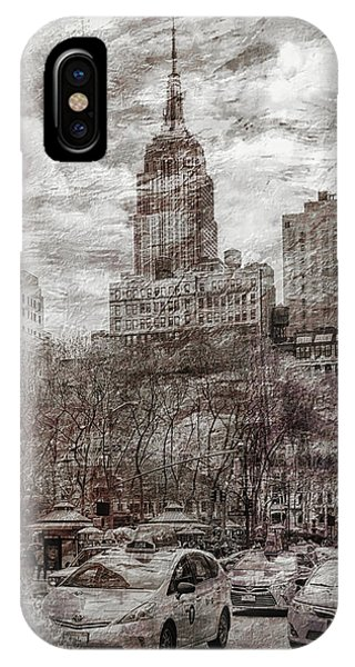 Empire iPhone Case - Urban Rush by Az Jackson