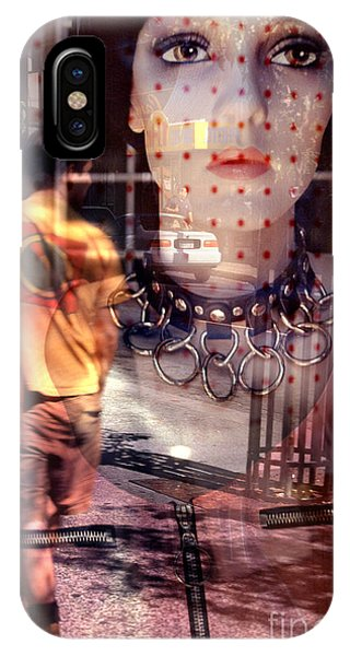 urban streetscapes - People Watching IPhone Case