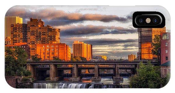 Urban Waterfall IPhone Case