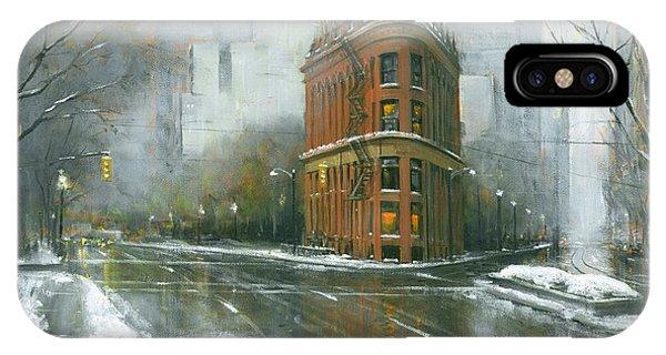 Urban Winter IPhone Case