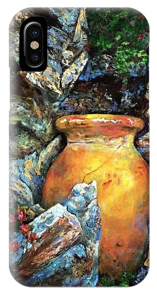 Urn Among The Rocks IPhone Case
