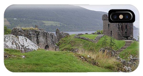 Urquhart Castle - Drumnadrochit IPhone Case