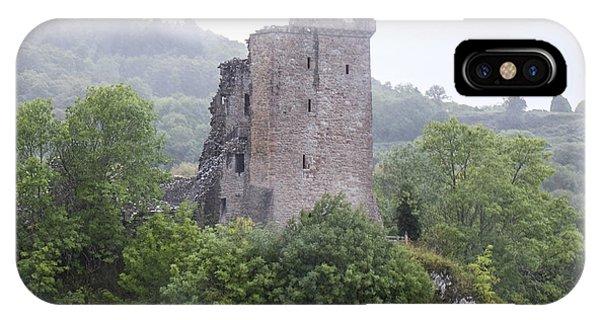 Urquhart Castle - Grant Tower IPhone Case