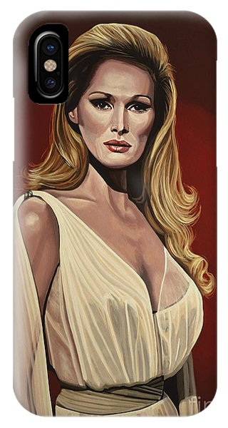 Swiss iPhone Case - Ursula Andress 2 by Paul Meijering
