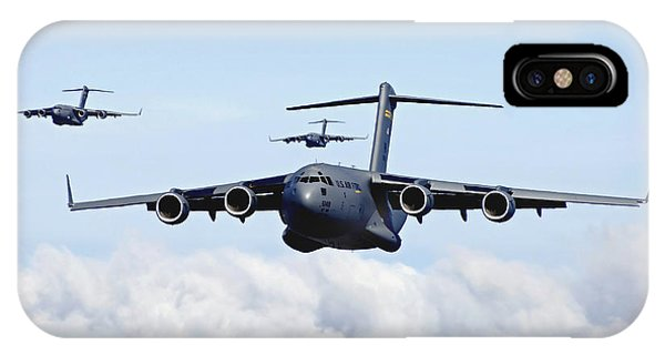 U.s. Air Force C-17 Globemasters IPhone Case