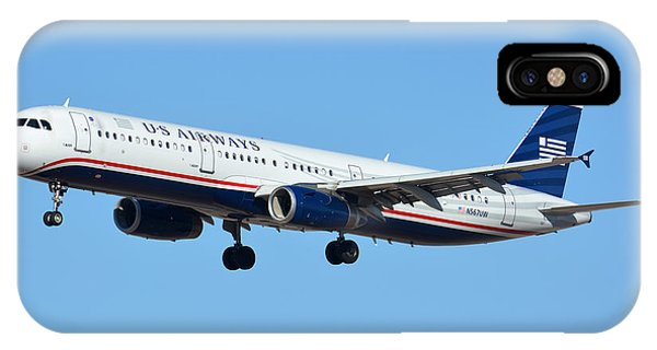 Us Airways Airbus A321-231 N567uw IPhone Case