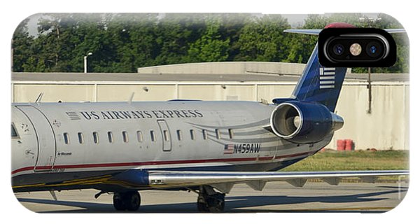 Us Airways Express Jet Plane IPhone Case