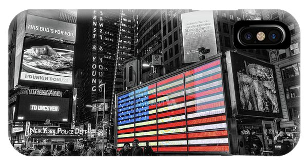 U.s. Armed Forces Times Square Recruiting Station IPhone Case
