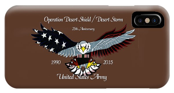 Us Army Desert Storm IPhone Case