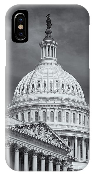 Us Capitol Building Iv IPhone Case