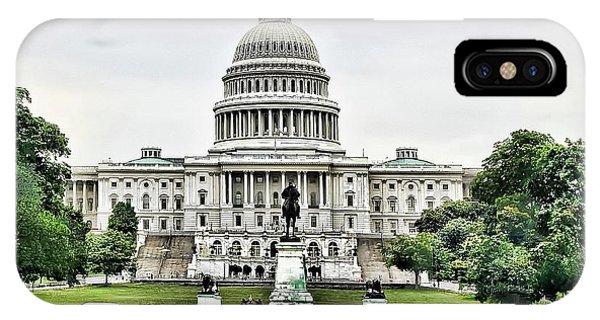 U.s. Capitol Building IPhone Case