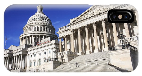 iPhone Case - Us Capitol Up Close In Washington Dc by William Kuta