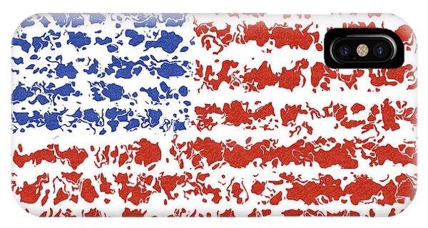 Capitalism iPhone Case - Us Flag by Cuiava Laurentiu