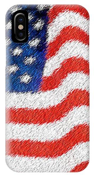 U.s. Flag IPhone Case