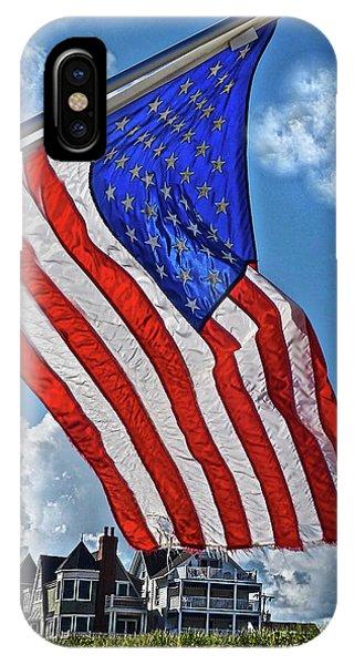 Us Flag,ocean Grove,nj Flag IPhone Case