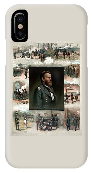 Us Grant's Career In Pictures IPhone Case