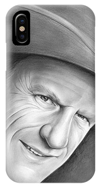 James iPhone Case - Gunsmoke's Matt Dillon by Greg Joens