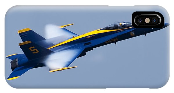 Us Navy Blue Angels High Speed Pass IPhone Case