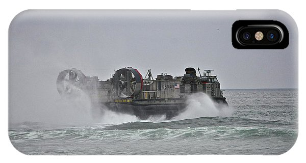 Us Navy Hovercraft IPhone Case