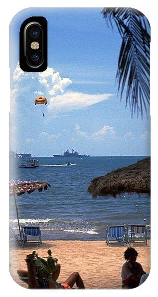 Us Navy Off Pattaya IPhone Case