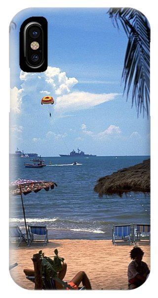 Us Navy Off Pattaya IPhone Case