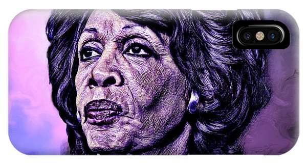 Us Representative Maxine Water IPhone Case