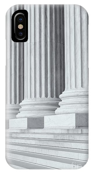 Us Supreme Court Building Iv IPhone Case