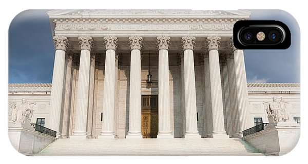 Us Supreme Court Building V IPhone Case
