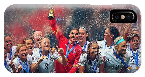 Us Women's Soccer IPhone Case