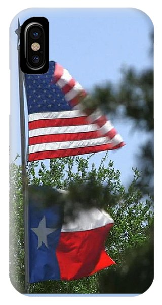 Usa Blesses Texas IPhone Case