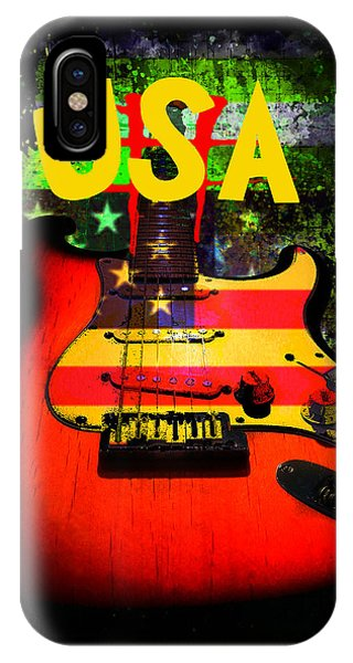 Usa Guitar Music IPhone Case