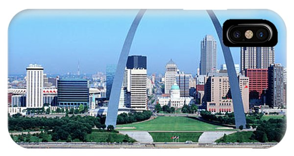 Mississippi River iPhone Case - Usa, Missouri, St. Louis, Gateway Arch by Panoramic Images