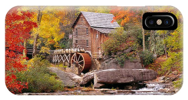 iPhone Case - Usa, West Virginia, Glade Creek Grist by Panoramic Images