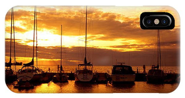 Haven iPhone Case - Usa, Wisconsin, Door County, Egg Harbor by Panoramic Images