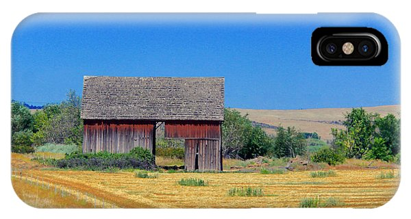 Used To Be Red Barn IPhone Case