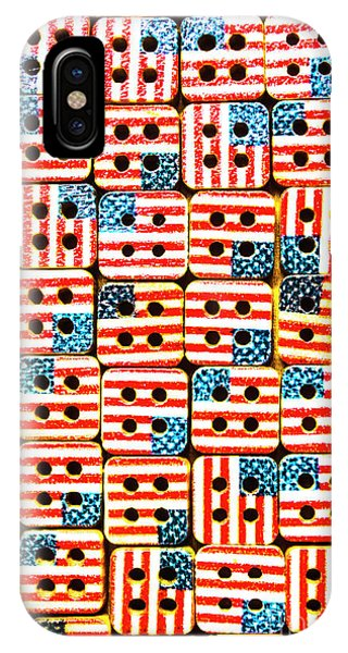 Patriotic iPhone Case - Uselections by Jorgo Photography - Wall Art Gallery