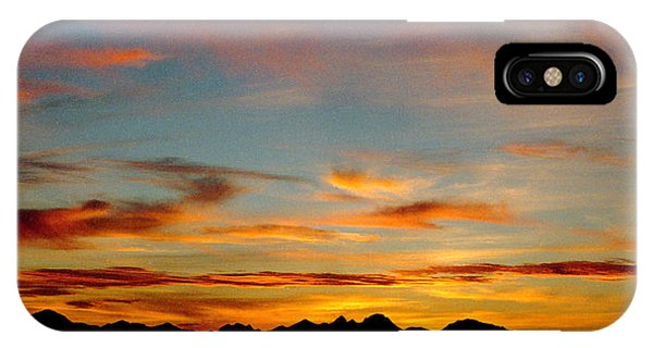 Usery Sunset IPhone Case
