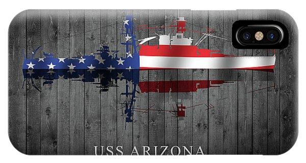 Uss Arizona IPhone Case